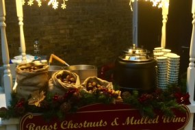 Roast chestnut cart