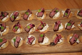 Canapes by TML #food + cuisine