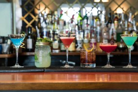 A small selection of our cocktails