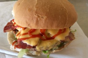 Aunty's Cheeseburger