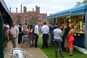 Marquee Wedding  Bar at Statley House