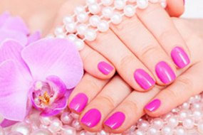 Manicure & Nail Painting at Sparkle Parties
