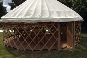 Yurt without wall canvas