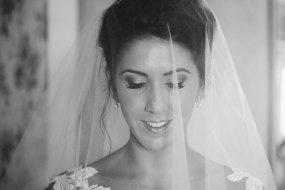 Photo of bride on wedding day