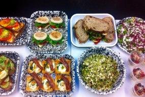 muffins, sandwiches, breakfast, yoghurt, healthy, pastry