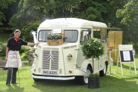 Wedding Crepe Van