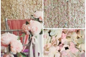 Flower Walls and Backdrops