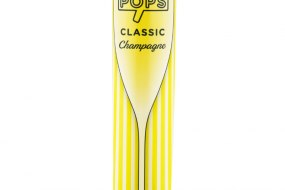 POPS CLASSIC Champagne available now from Traditional Ice Cream