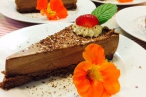 Delicious desserts for wedding catering