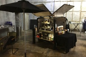 mobile coffee Film prop