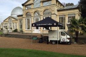 Mobile coffee van weddings