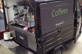 Mobile coffee cart London & UK