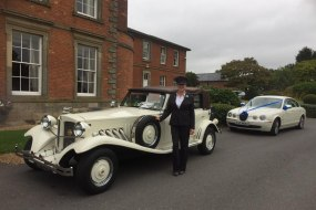 Wedding Cars at Ansty Hall