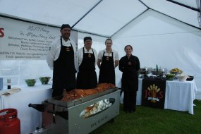 Hog roast Blickling Hall