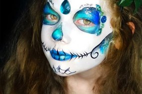Geordie Face Painter North East Make up Artist