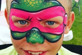 Geordie Face Painter North East UK
