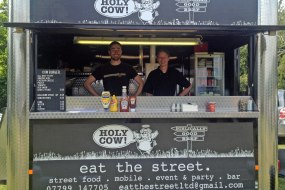 Holy Cow serving up gourmet burgers at the polo