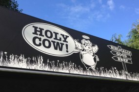 Holy Cow branding