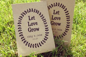 Personalised Seed Packet Favours