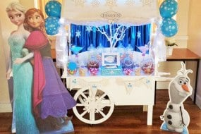 Frozen Candy Cart