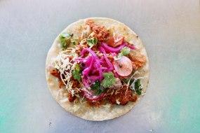 El Huichol - Chilorio Style Pulled Pork Single Taco
