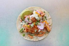 El Huichol - Tempura Battered Fish Single Taco