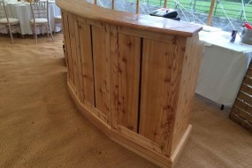 Yorkshire Bar Co Curved Mobile Bar
