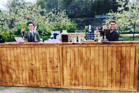 Yorkshire Bar Co Long Straight Mobile Bar