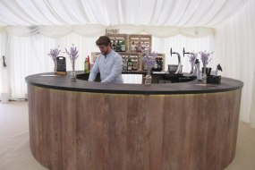 Yorkshire Bar Co Round Mobile Bar