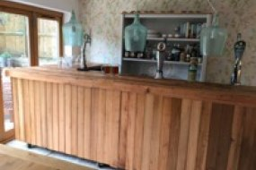 one of our bars ideal for indoor parties