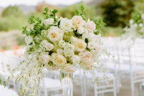 wedding venue ceremony floral center piece