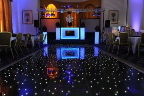 LED dance floor up to 18x18