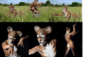Tiger Full Bodypaint