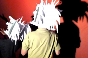 Shadow Theatre Masks