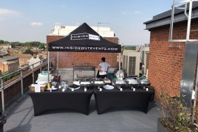 Inside Out Eventz Outdoor BBQ/Kitchen Set Up