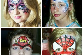 Hire face painter in Telford