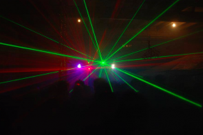 Event DJ/ Mobile DJs/ Northamptonshire/Lasers/Special effects