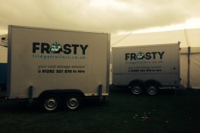Outside catering refrigeration