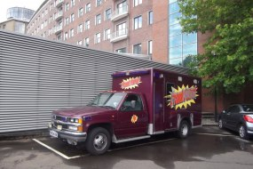 Our authentic Prank Patrol Ambulance