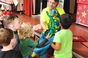 puppet, children's entertainment, kid's party