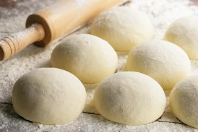 fresh dough made every time