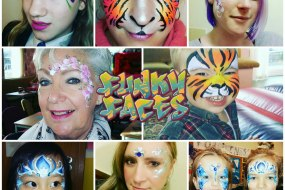 Funky Faces Face Painting