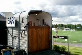 mobile bar draught beer on board fridges = cool drinks!