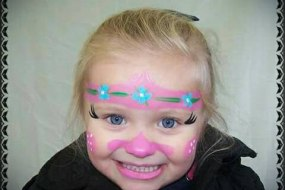 Poppy Facepaint