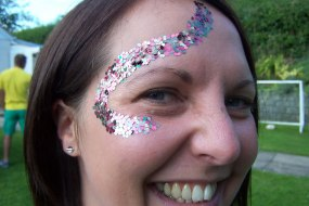 Festival Glitter facepaintingmerseyside.co.uk