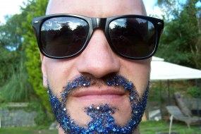 Glitter Beard facepaintingmerseyside.co.uk