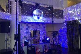 Wedding Lighting and mirror ball