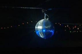 Our Gorgeous Giant Mirror ball