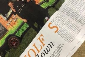 We featured in Exclusive Derbyshire magazine!