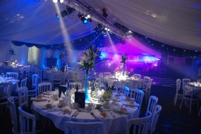 Royston Marquees Lighting effect for Party